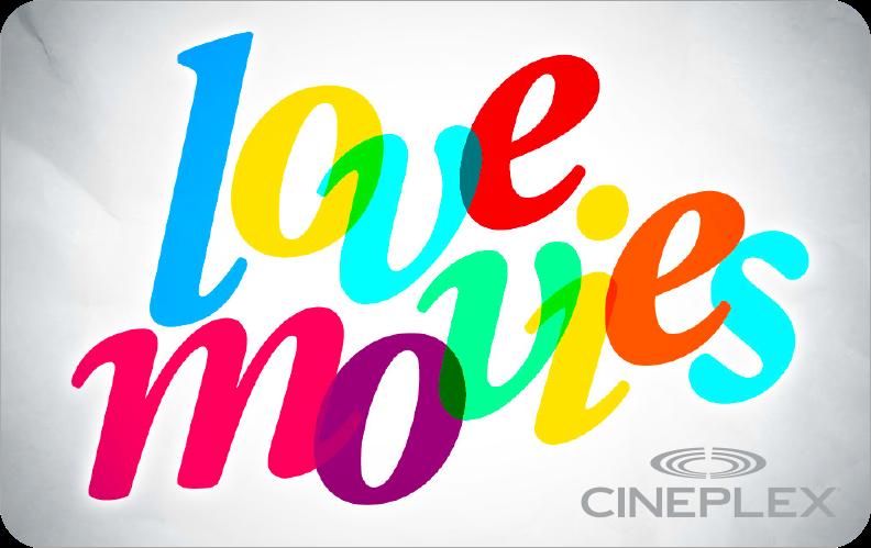 Cineplex e gift cards x 50 negle Images