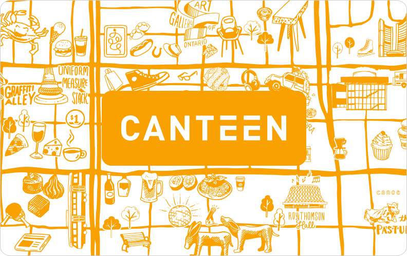 Purchase a gift card for canteen restaurant x 50 negle Gallery