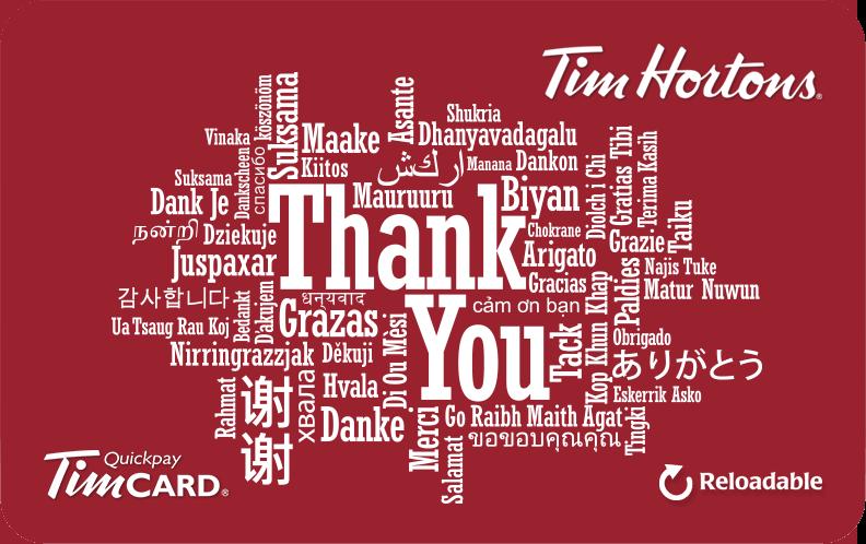 Buy E Gift Tim Cards Tim Hortons