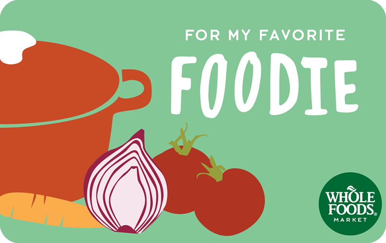 Buy a Gift Card for Whole Foods Market