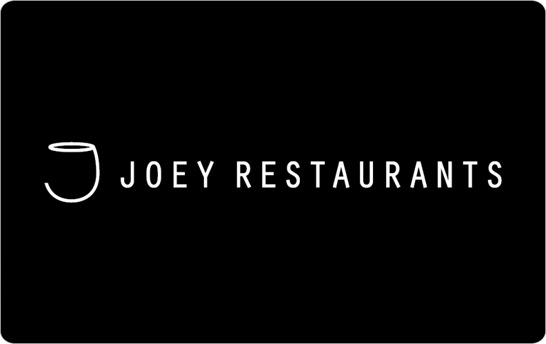 Joey restaurants gift cards canada customize your card negle Image collections