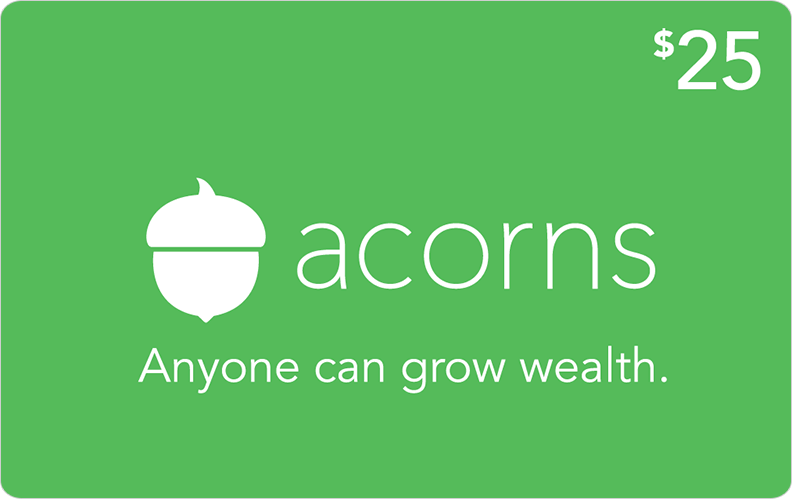 A gift that can grow acorns invest in the people you care about with an acorns gift card negle Gallery